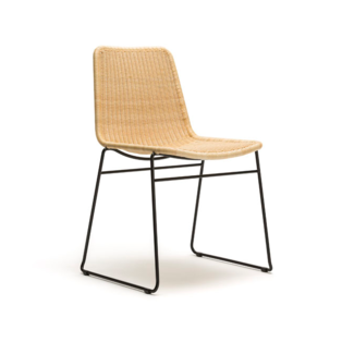 Feelgood Designs C607 Dining Chair  - Natural Rattan (Indoor)