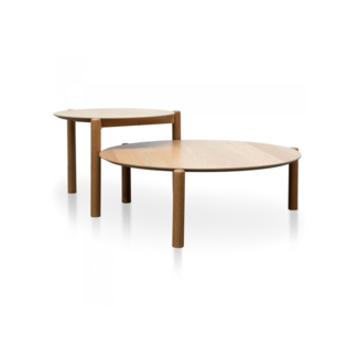 Dwell Kobe Nest of Coffee Tables - Natural