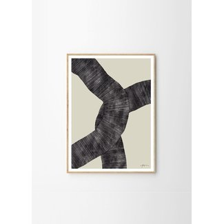 Dwell Abstract 697 - Framed Print