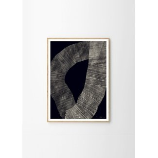 Dwell Abstract 696 - Framed Print