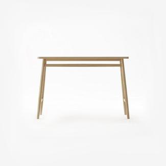 Dwell Twist Console Table - White Oak