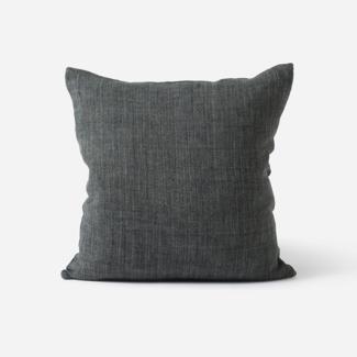 Citta Design Heavy Linen Cushion - Slate