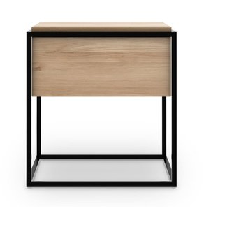 Ethnicraft Monolit Bedside Table - Oak