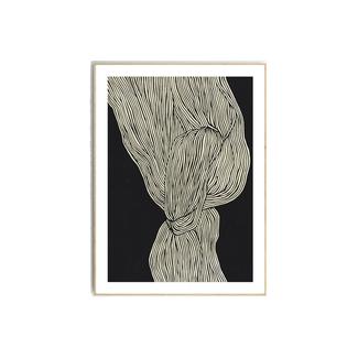 "Dwell ""The Line"" 12 - Framed Print"