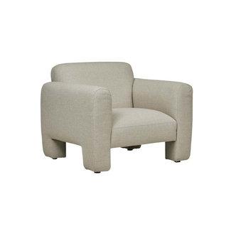 Globewest Paddy Occasional Chair - Buttermilk Tweed
