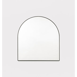 Middle of Nowhere Bjorn Arch Mirror - Black