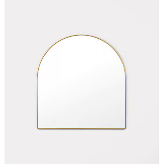 Middle of Nowhere Bjorn Arch Mirror - Brass