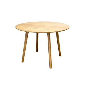 Convair Round Dining Table - Oak
