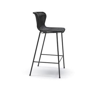 Feelgood Designs C603 Barstool - Black Rattan (Indoor / Outdoor)