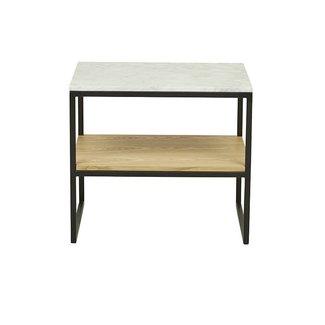 Globewest Baxter Marble Shelf Side Table