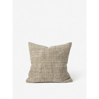 Citta Hutt Handwoven Wool Cushion Cover - Ivy/Natural