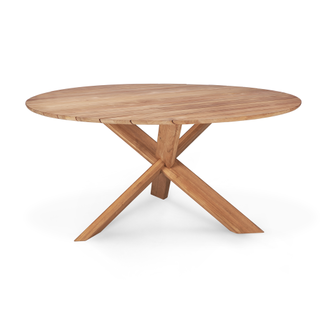 Ethnicraft Ethnicraft Teak Circle Outdoor Dining Table