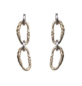 Tat2 Tat2 Twisted Link Earring