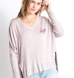 "Good HYOUman Good hYOUman Carrie Sweatshirt ""Love Yourself"""