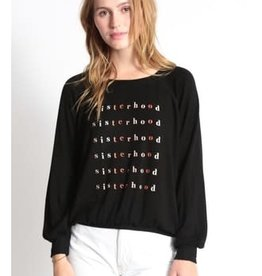 "Good HYOUman Good hYOUman Emerson Sweatshirt ""Sisterhood"""