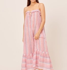 Lovestitch Lovestitch Crinkle Yarn Maxi Cover-Up