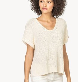 LillaP Lilla P Easy V-Neck Sweater