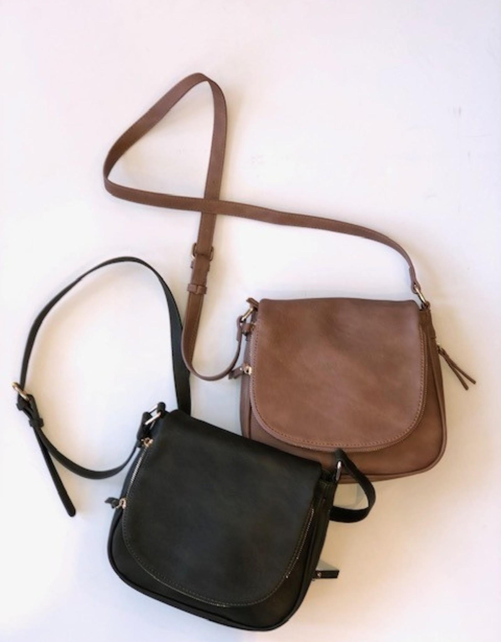 DT Cross Body Vegan Leather Bag