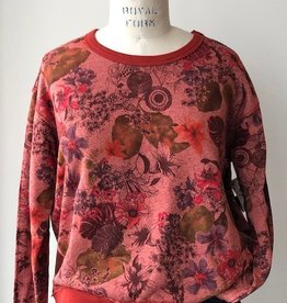 Stone Flowers Stone Flowers Sweatshirt Red