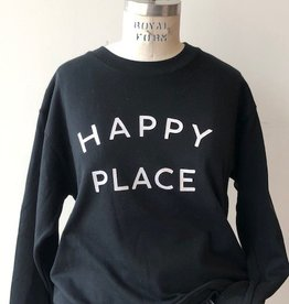Sub_Urban Riot Sub_Urban Riot Happy Place Sweatshirt