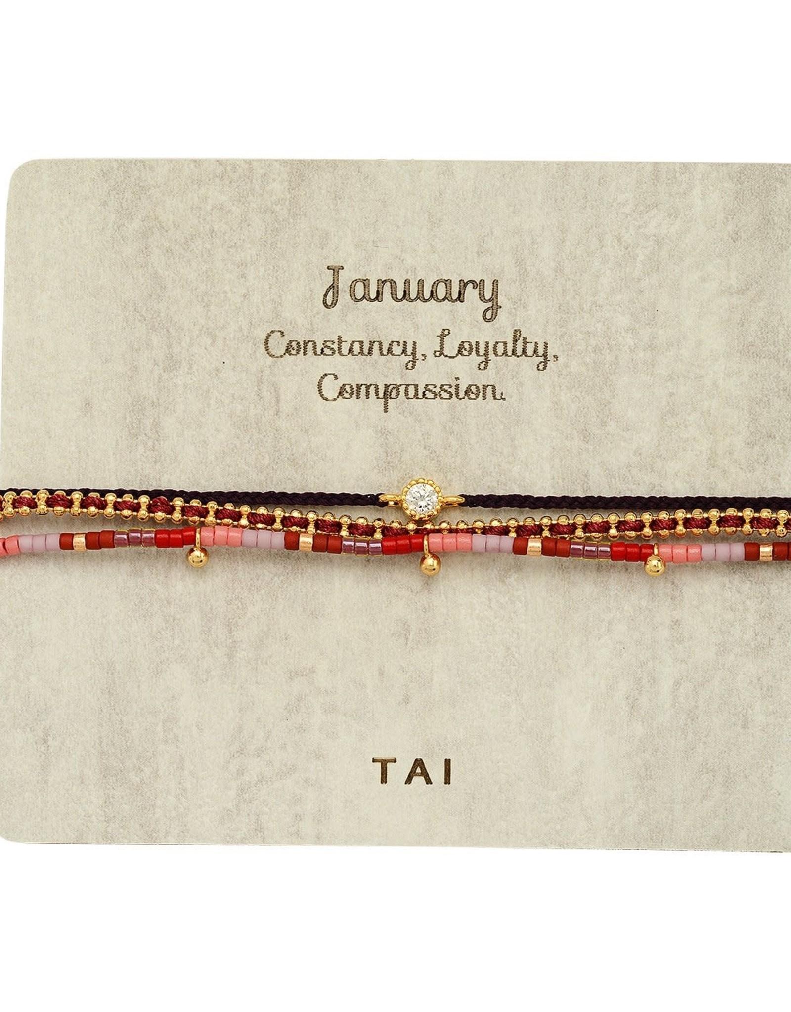 Tai Jewelry Tai Birthstone Bracelet