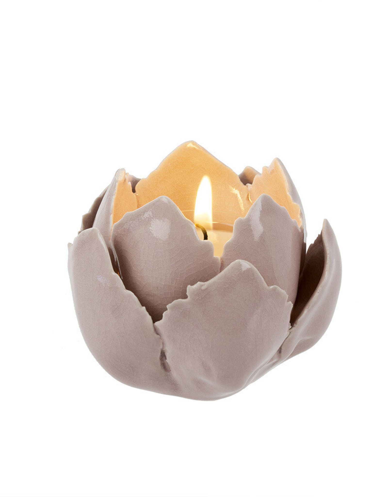 Indaba Indaba New Bloom Tealight Pink