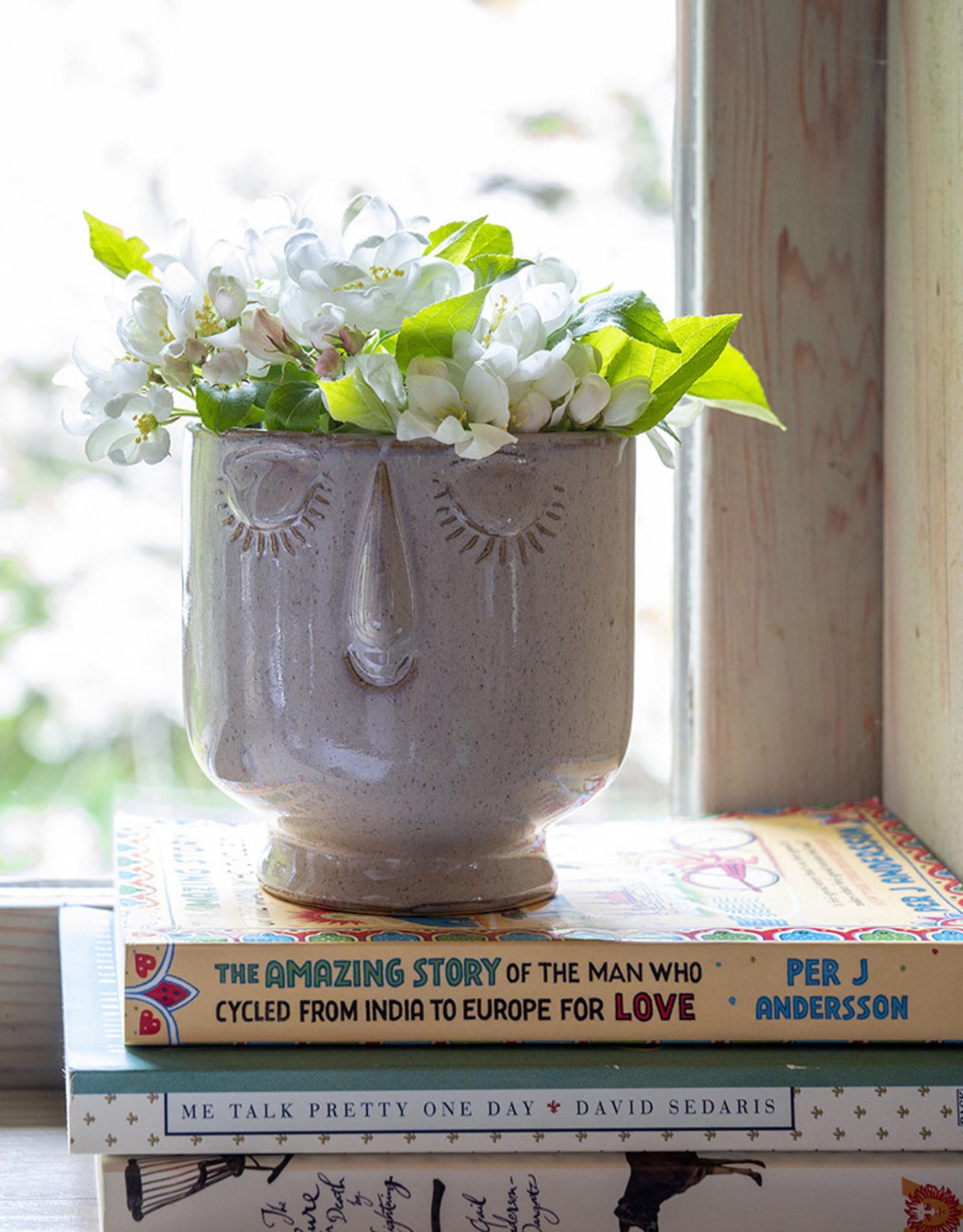 Indaba Friendly Face Pot
