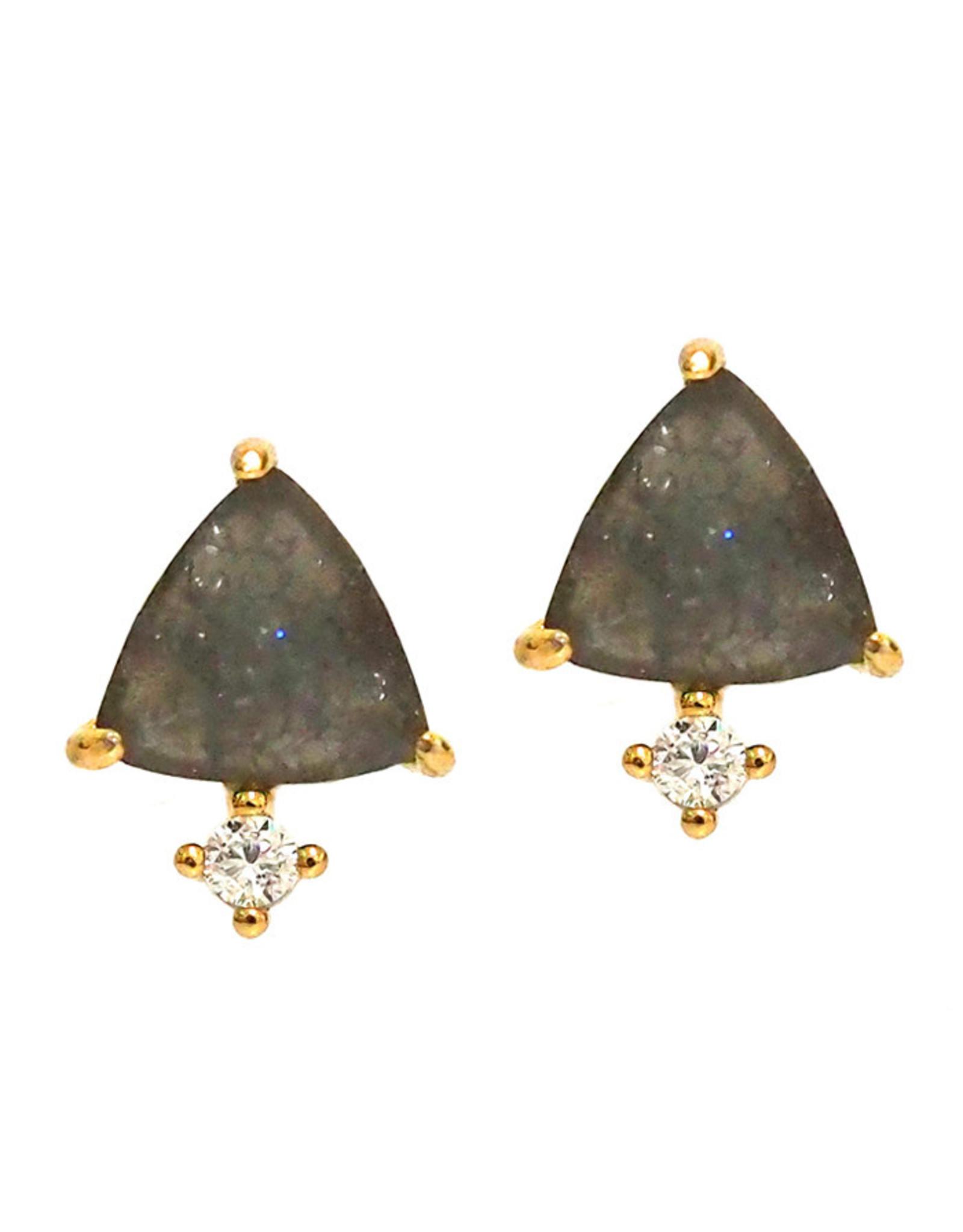 Tai Jewelry Tai Triangle Stud