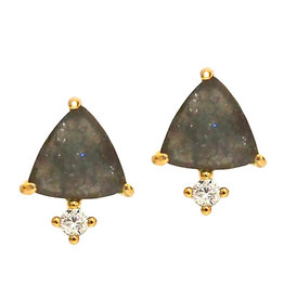 Tai Jewelry Tai Triangle Stud