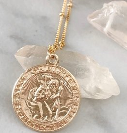 UNCVRD UNCVRD St. Christopher Necklace