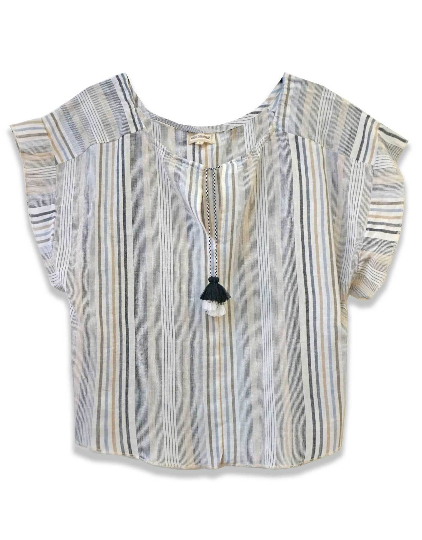 4 our Dreamers 4 our Dreamers Tassel Top