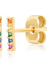 Tai Jewelry Tai Rainbow Stick Earring
