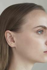Tai Jewelry Tai White Opal Climber Earring Style SPE-9130-OP16