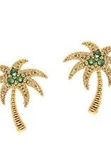 Tai Jewelry Tai Palm Tree Studs Style TE-1562