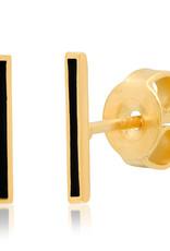 Tai Jewelry Tai Enamel Stick Stud Style STE-2140