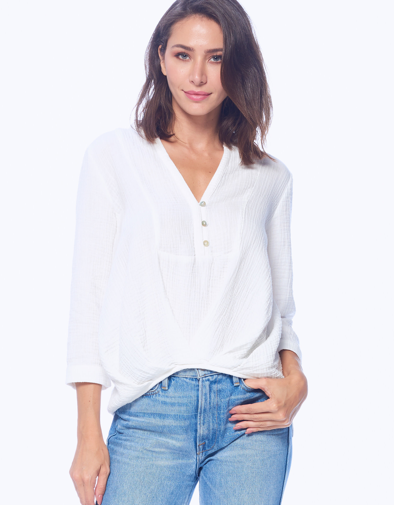 4 our Dreamers 4 Our Dreamers Gauze Top