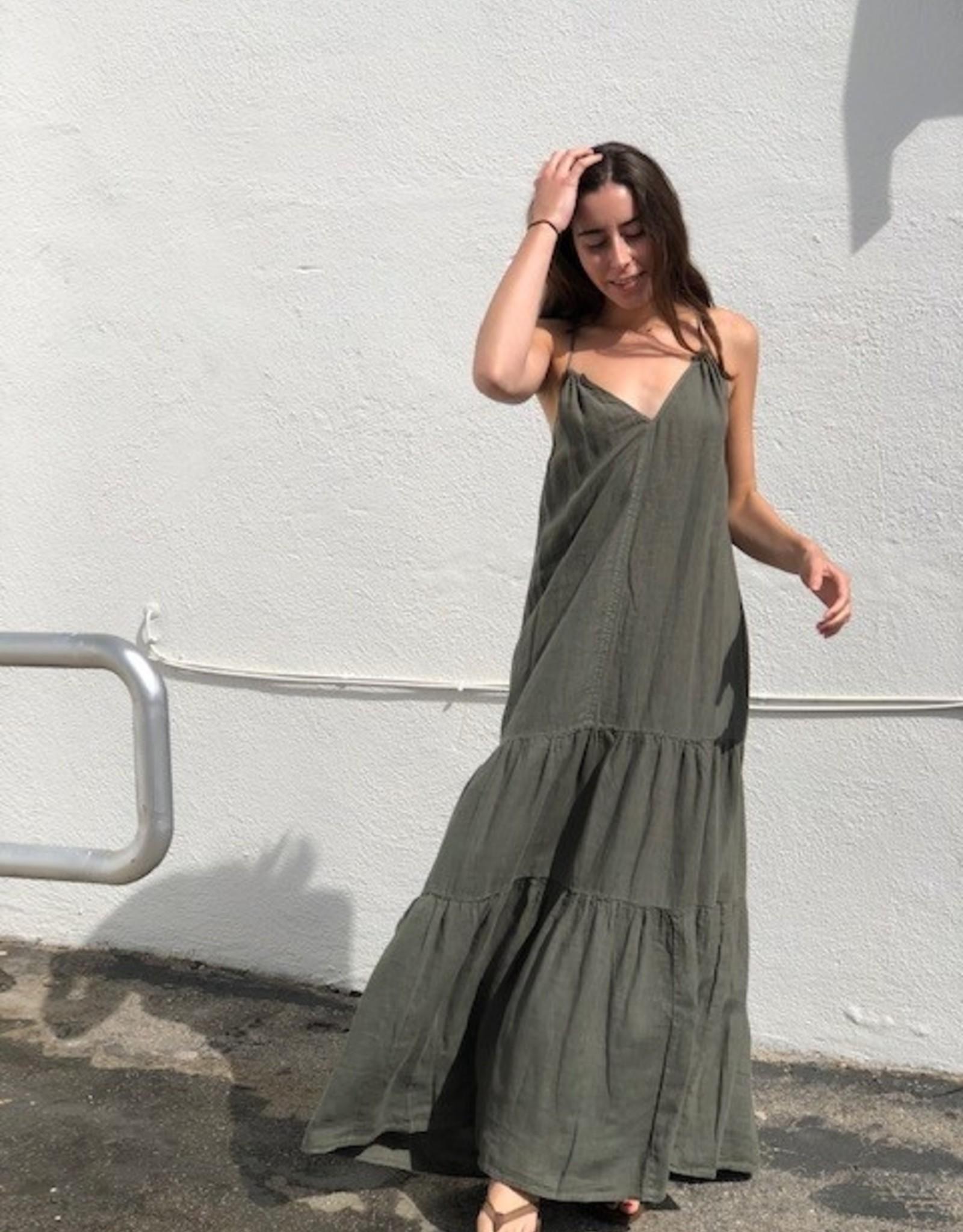 Velvet Velvet Cleo Dress Elm