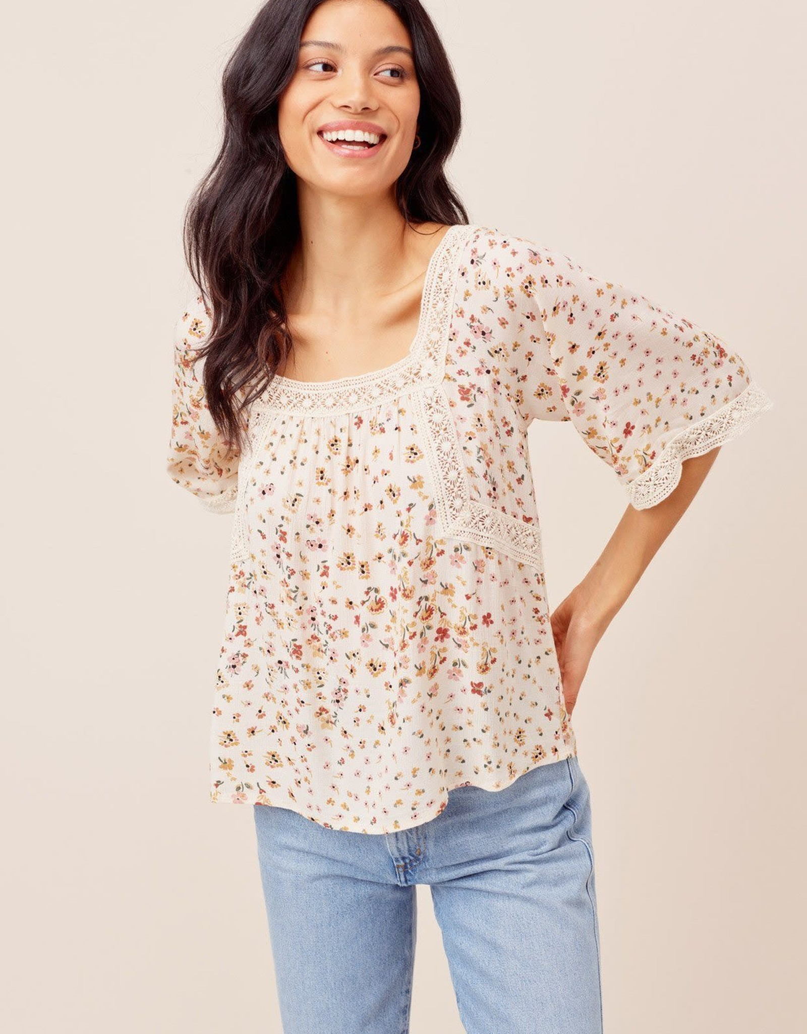 Lovestitch Lovestitch Tie Back Top