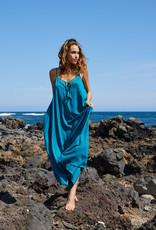Khush Khush Alohi Dress Bluegreen