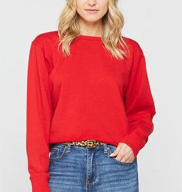 Velvet Heart Velvet Heart Rolene Sweatshirt Red