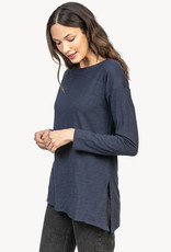 Lilla P Lilla P Asymmetrical Tunic  Midnight