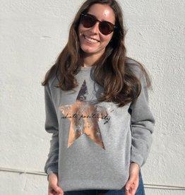 I Am I Am Radiate Positivity Sweatshirt Grey
