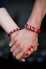 Love is Project Love is Project Big Love Bracelet RED