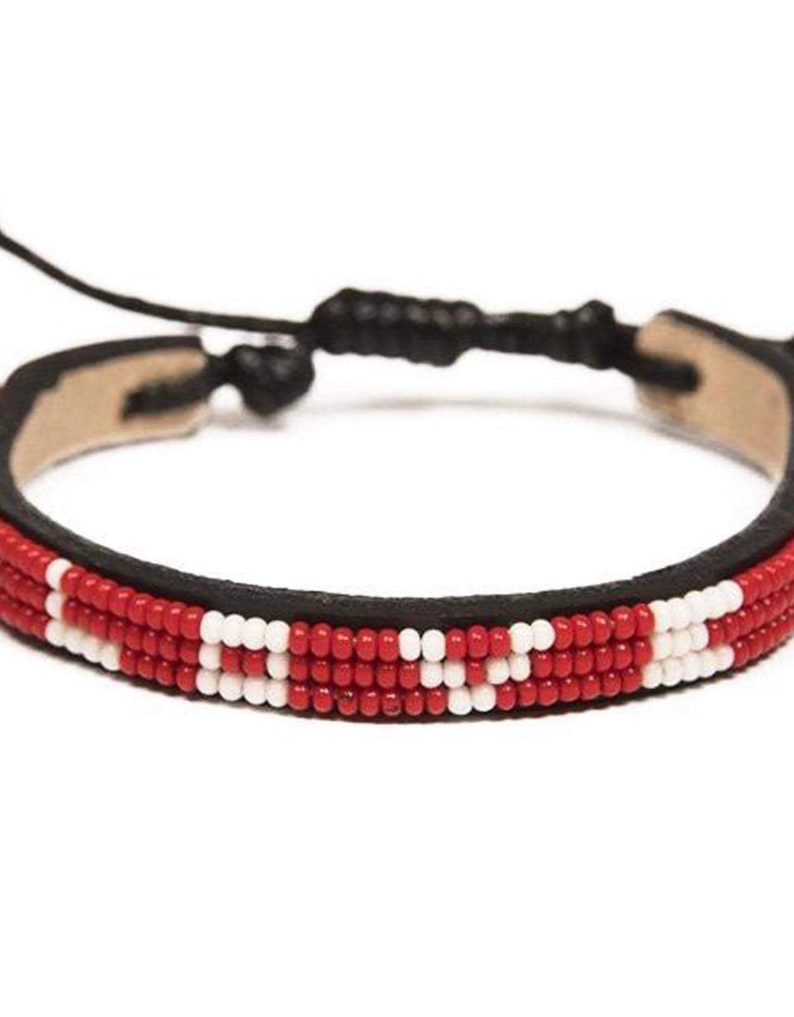 Love is Project Love is Project Skinny Love Bracelet RED