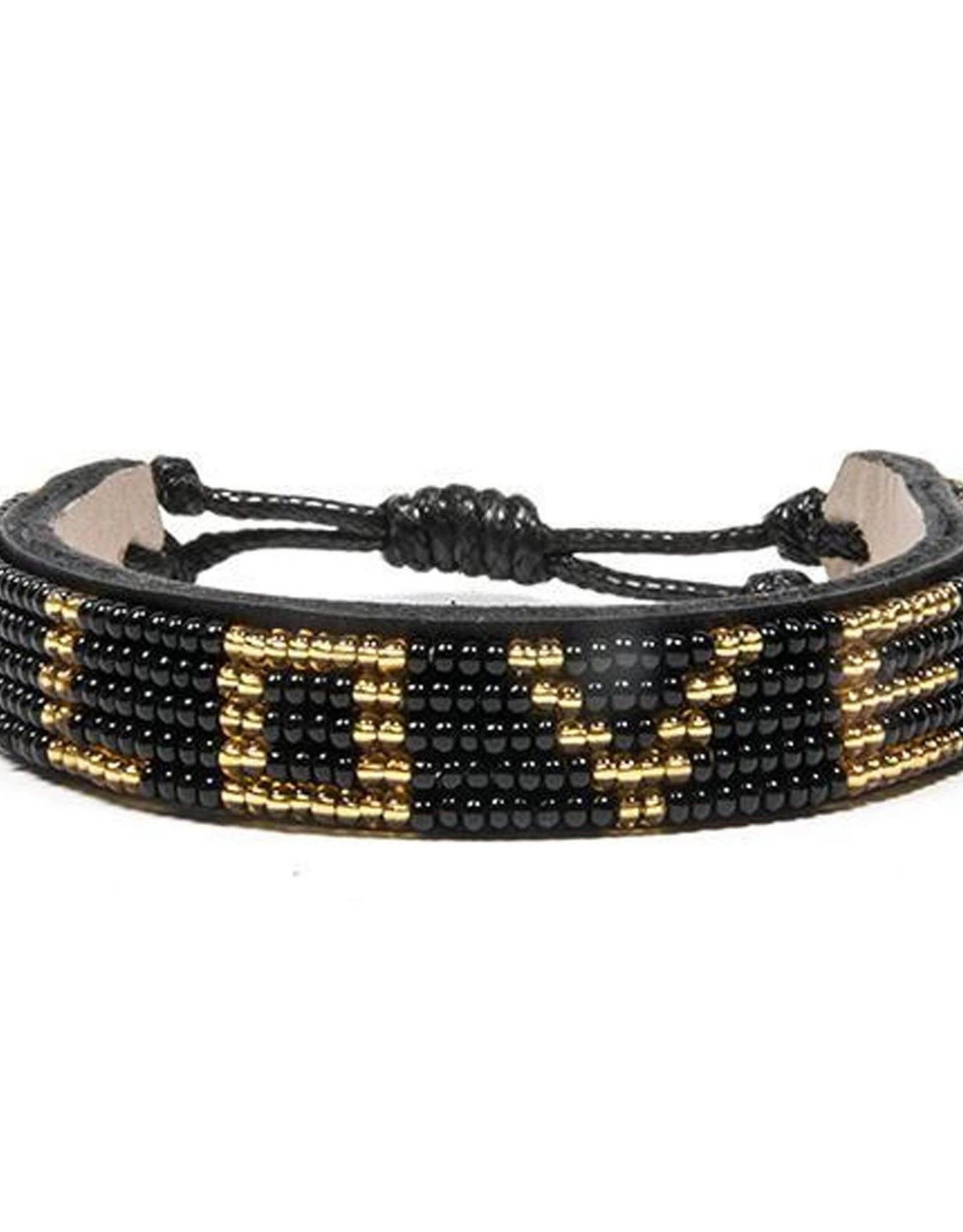 Love is Project Love is Project Big Love Bracelet Black