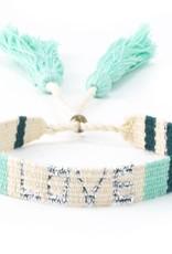 Love is Project Love is Project Atitlan Love Bracelet Green