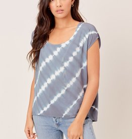 Lovestitch Lovestitch Tie Dye Open Back Top
