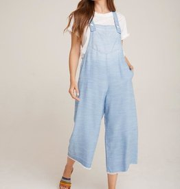 Bella Dahl Bella Dahl Wide Leg Crop Overall Sea Spray