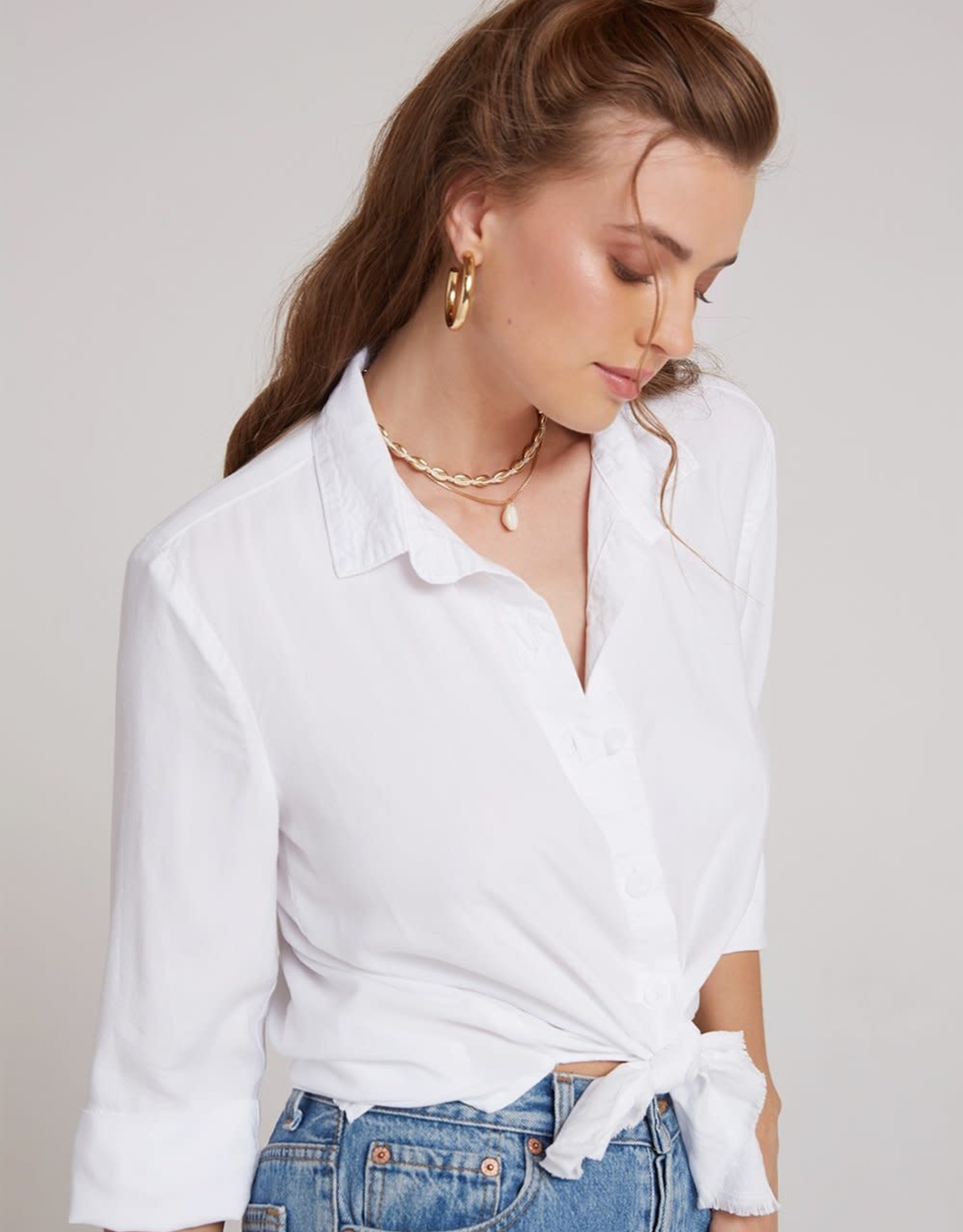 Bella Dahl Bella Dahl 3/4 Sleeve Button Down Shirt
