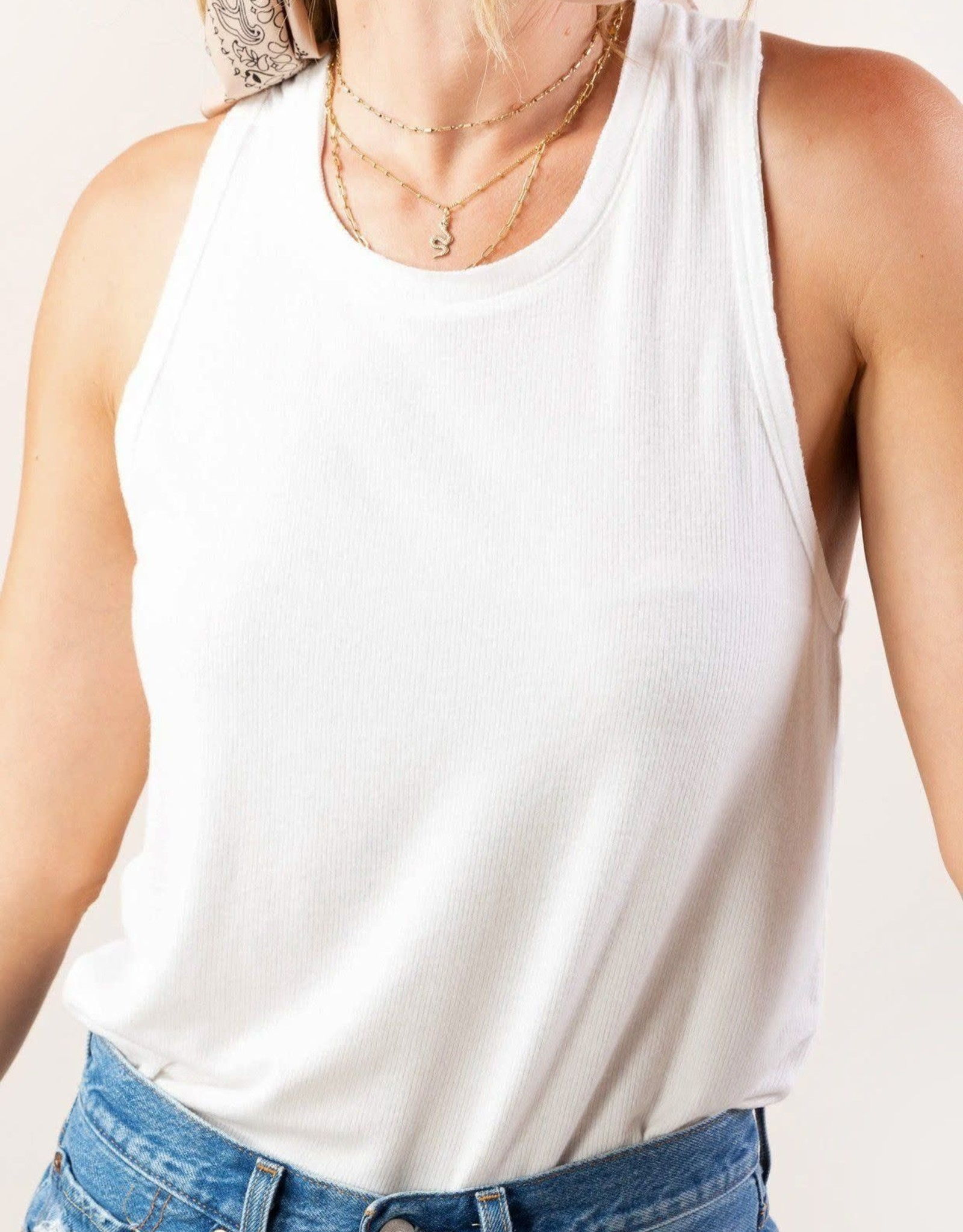 Lovestitch Lovestitch Micro-Rib Tank